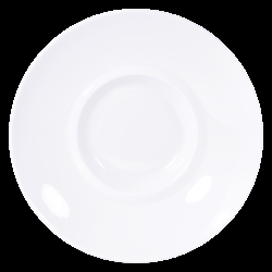 Bernardaud Fusion White Coupe Shogun - 10.2 In