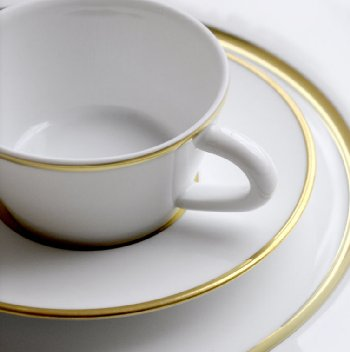 Bernardaud DUO GOLD Dinnerware