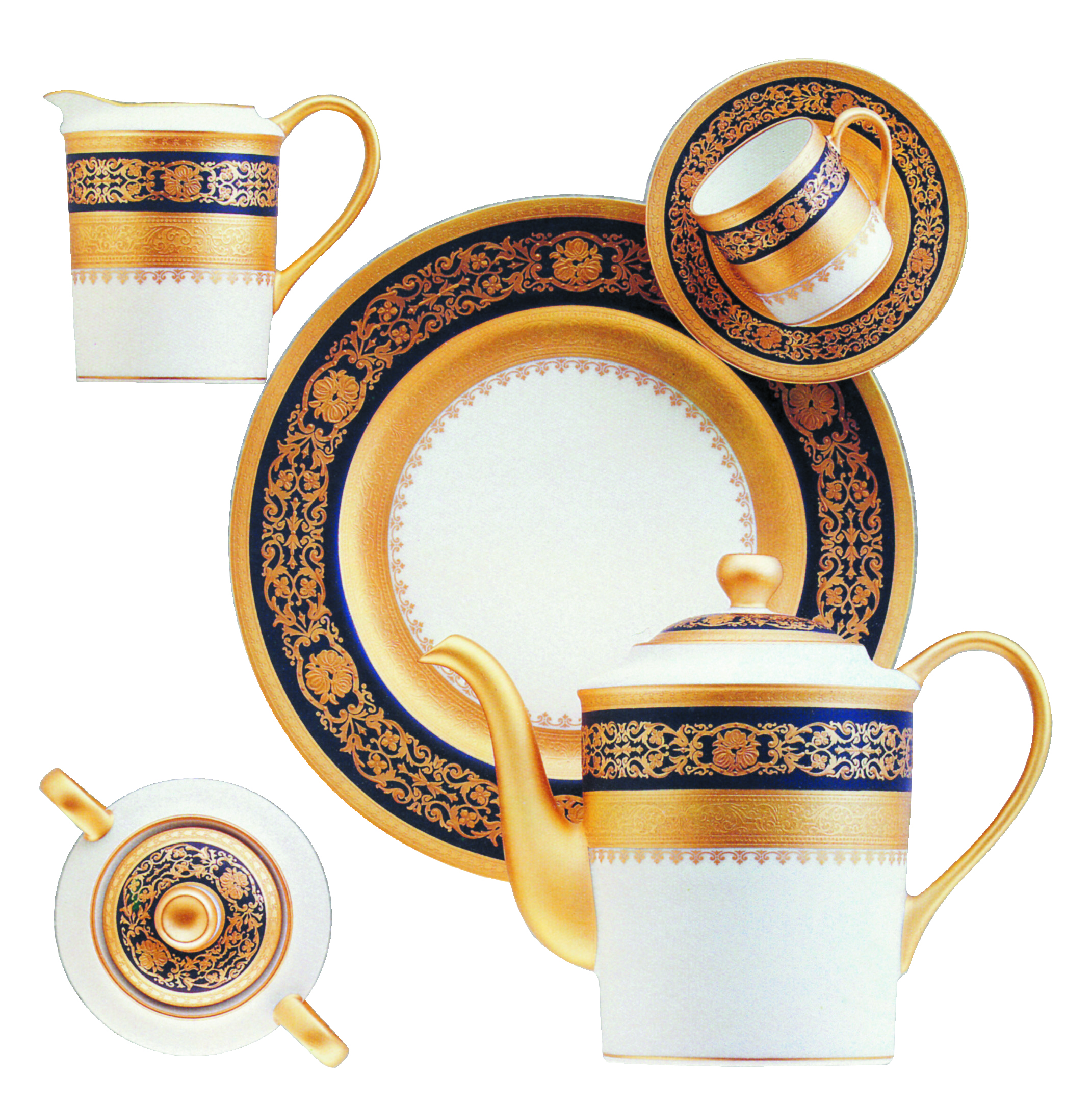 Bernardaud BEAUGENCY GOLD Dinnerware