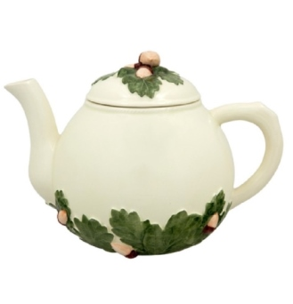 Bordallo Pinheiro Acorns Tea Pot