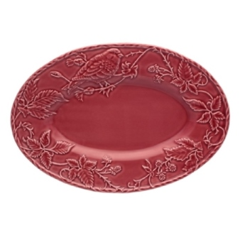 Bordallo Pinheiro Artichoke and Bird Tray 13