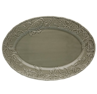 Bordallo Pinheiro Artichoke and Bird Tray 19