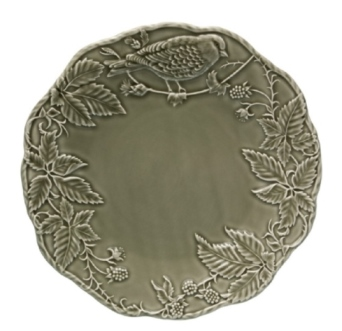 Bordallo Pinheiro Artichoke and Bird Charger Plate 32