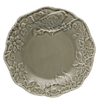 Bordallo Pinheiro Artichoke and Bird Plate 25,5