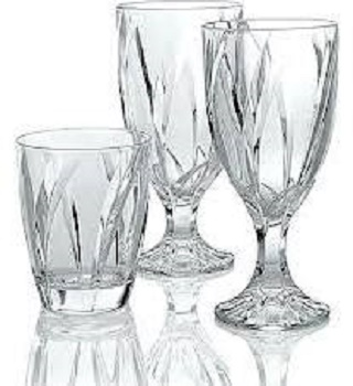 Noritake Breeze Clear Crystal