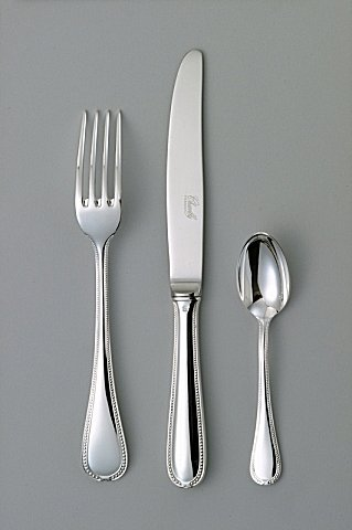 Chambly Perles Silverplate Flatware