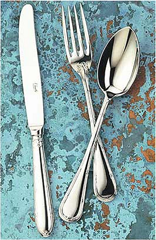 Chambly Rubans Croises Stainless Flatware