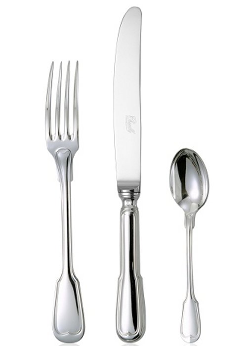 Chambly Filet Five Piece Setting, Stainless