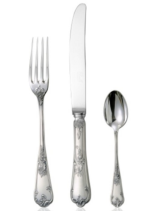 Chambly Regence 5 piece placesetting -PS, Silverplate