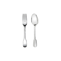 Christofle CLUNY Children's Dinner Set, 2 pieces