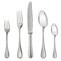 Christofle RUBANS 5 Piece Place Setting for 1 person