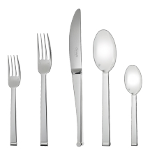 Christofle BY 5 Piece Place Setting for 1 person