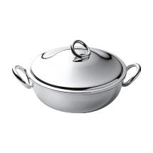 Christofle VERTIGO Vegetable Tureen & Cover Silverplate