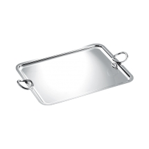 Christofle VERTIGO Rectangular Tray with Handles