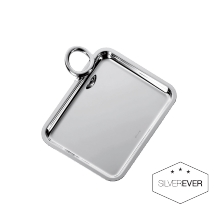 Christofle VERTIGO Rectangular Tray 1 Handle Silverplate
