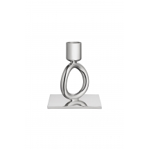 Christofle VERTIGO 1 Ring Candleholder Silverplate