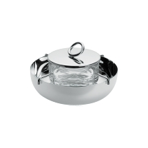 Christofle VERTIGO Caviar Set Small Silverplate