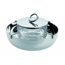 Christofle VERTIGO Caviar Set Large Silverplate