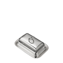 Christofle VERTIGO Rectangular Butter Dish  Silverplate
