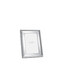 Christofle PERLES Picture Frame Silverplate