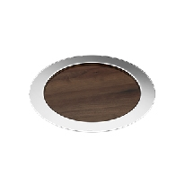 Christofle OH DE CHRISTOFLE Wooden Round Tray