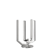 Christofle ARBORESCENCE 4-Light Articulated Candelabra Stainless Steel
