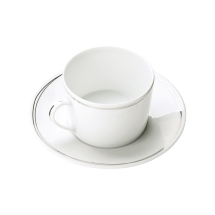 Christofle VERTIGO Tea / Coffee Cup & Saucer