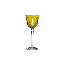 Christofle KAWALI Roemer / Rhine Wine Glass Amber