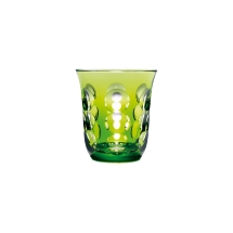 Christofle KAWALI Lime Green Goblet