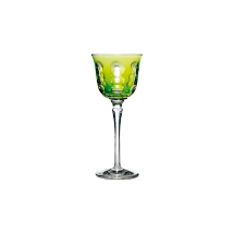 Christofle KAWALI Roemer / Rhine Wine Glass Lime Green