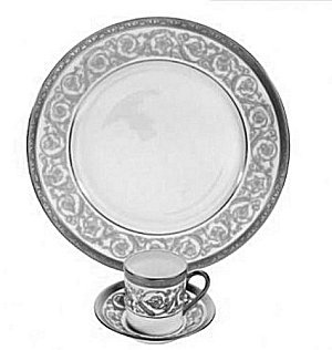 Christofle ORANGERIE PLATINUM Dinnerware