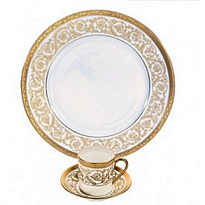 Christofle ORANGERIE GOLD Dinnerware