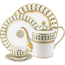 Bernardaud Constance Green 5 Pc Setting