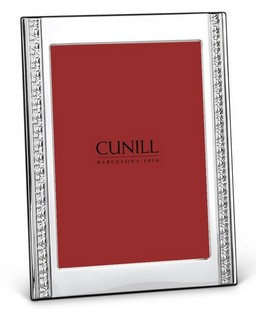 Cunill Sterling Silver Classic Renaissance 4x6 Frame