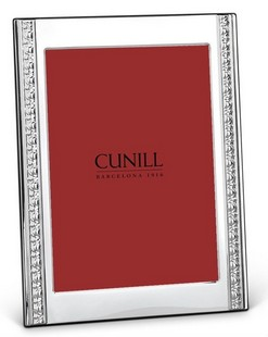 Cunill Sterling Silver Classic Renaissance 8x10 Frame