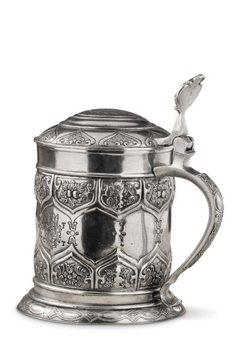 Pewter Italia Dinasty Beer Stein H: 8