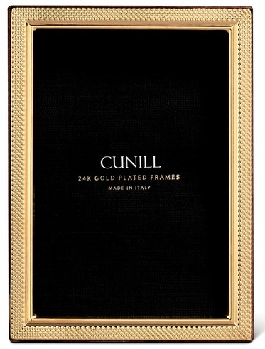 Cunill 24K Gold Plated Droplets 8x10 Frame