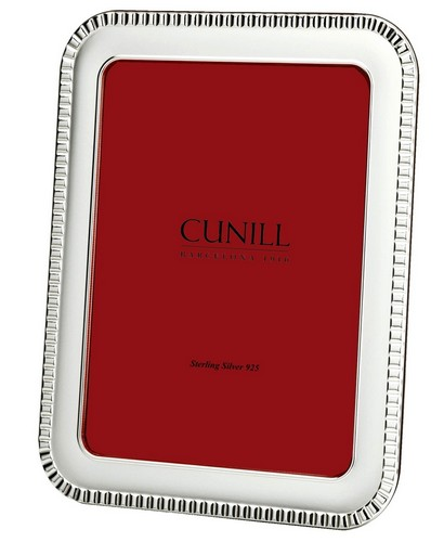 Cunill Sterling Silver Classic Paris 8x10 Frame