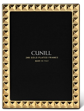 Cunill 24K Gold Plated Diamonds 5x7 Frame