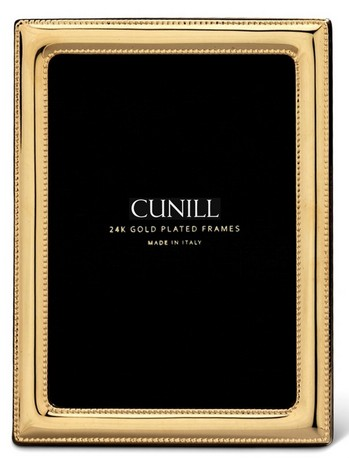 Cunill 24K Gold Plated Pearls 8x10 Frame