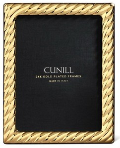 Cunill 24K Gold Plated Picasso 4x6 Frame