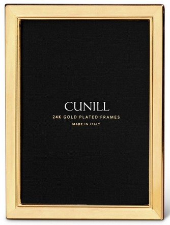 Cunill 24K Gold Plated Metropolis 4x6 Frame