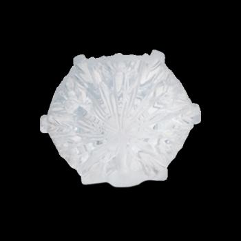 Daum  Christmas Ornaments White snowflake  2.6 in.