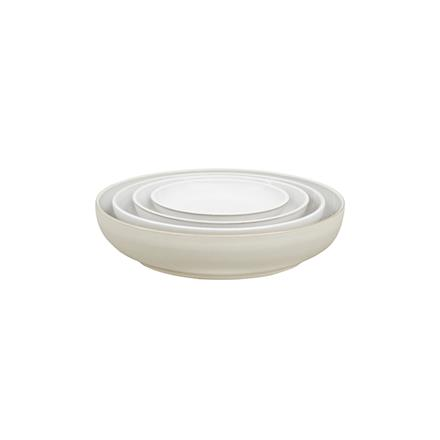 Denby Natural Canvas Set of 4 Nesting Bowls