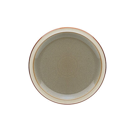 Denby Fire Dinner Plate - Sage/Cream