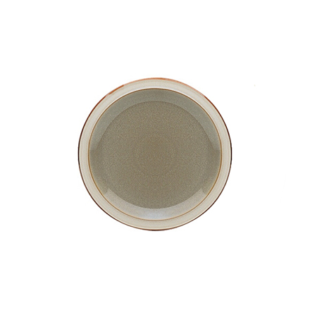 Denby Fire Salad Plate - Sage/Cream