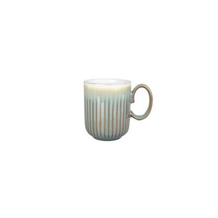 Denby Fluted Mugs Regency Green Fluted Mug