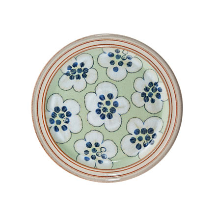 Denby Heritage Orchard Green Accent Salad Plate