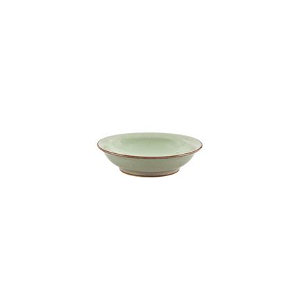 Denby Heritage Orchard Green Medium Shallow Bowl