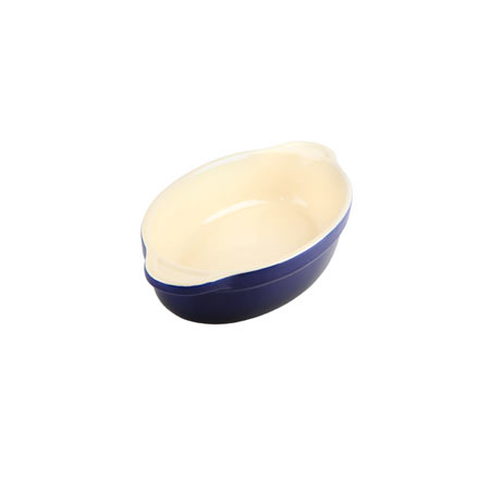 Denby Cook & Dine Royale Blue Oven To Table Small Oval Dish